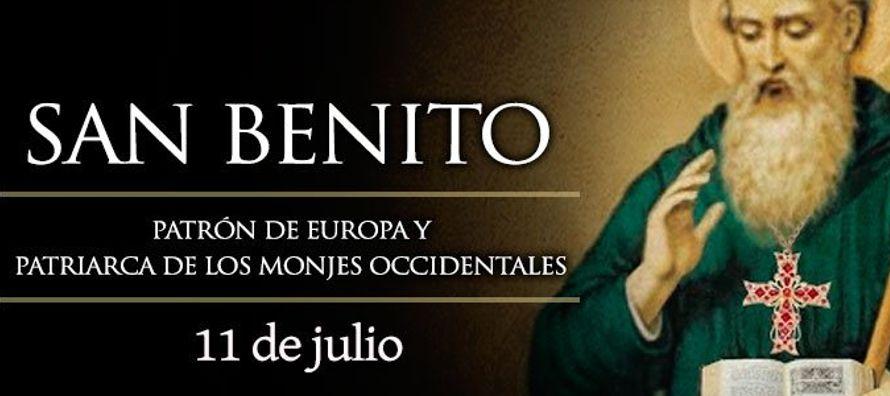 Benito nació en Nursia, Italia, hacia el año 480 en el seno de una familia de...
