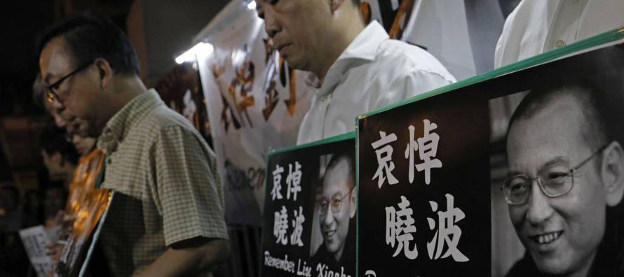 Un sucinto comunicado del Ayuntamiento de Shenyang, la ciudad donde ha muerto Liu...