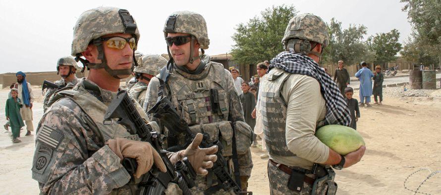 Está estudiando privatizar la guerra en Afganistán para evitar mandar un nuevo...