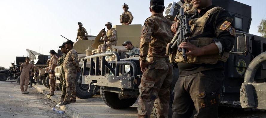 El Ejército y milicias respaldadas por Irán han avanzado en el este de la ciudad de...