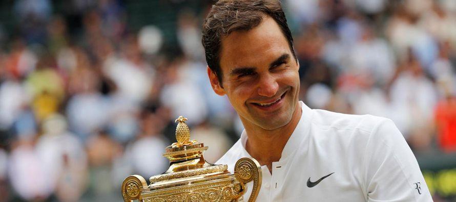 El grand slam londinense continuó el notable renacimiento de Federer, quien volvió al...