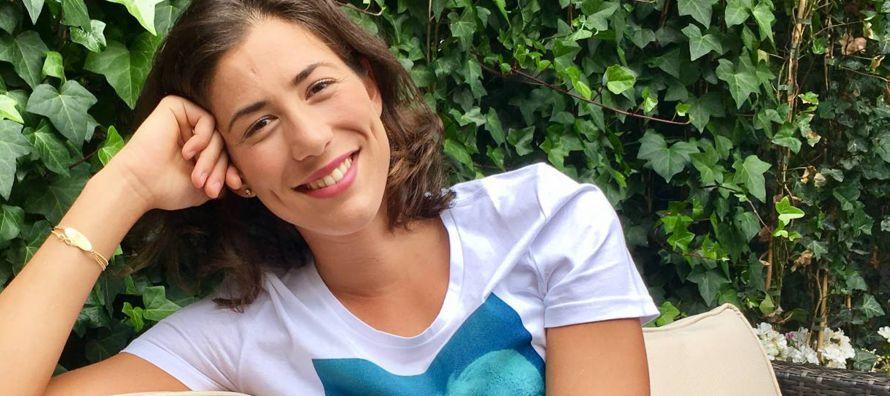 Son las once de la mañana en Londres y Garbiñe Muguruza (Caracas, 23 años)...