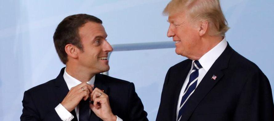 «Trump me ha asegurado que intentará encontrar una solución durante los...