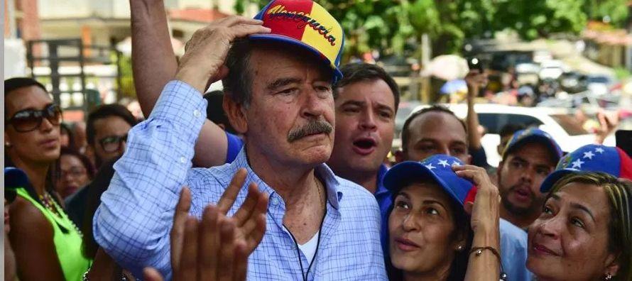 No hay novedad en los pleitos de Vicente Fox con la revolución bolivariana. En noviembre de...