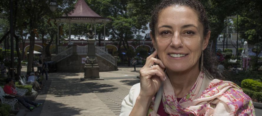 La Ciudad de México perdió el rumbo con Miguel Ángel Mancera: Claudia Sheinbaum