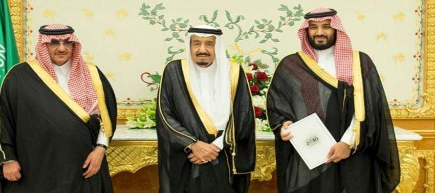 Una supuesta adición a la morfina, pretexto del Rey saudí para forzar la renuncia de su Heredero