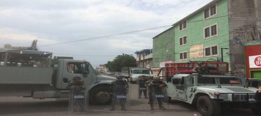 Un enfrentamiento entre la Marina y el narco deja ocho muertos en Ciudad de México