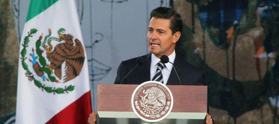 Peña Nieto pide el título al Toluca