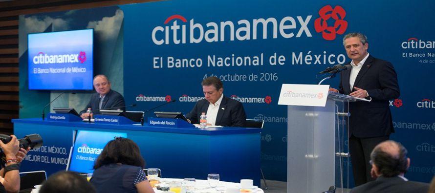 En el segundo trimestre del año Citibanamex obtuvo utilidades por 6 mil 738 millones de...