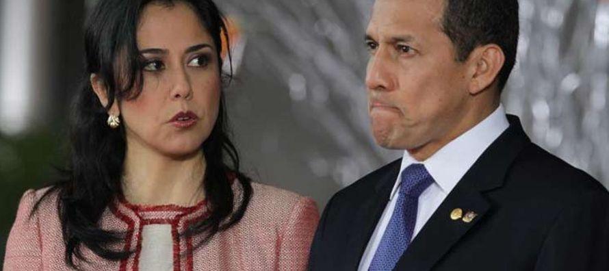 Humala y Heredia son investigados por lavado de activos por la recepción y manejo de fondos...
