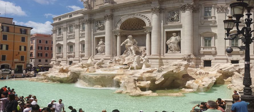 Roma está considerando limitar el número de visitantes en partes de la llamada Ciudad...