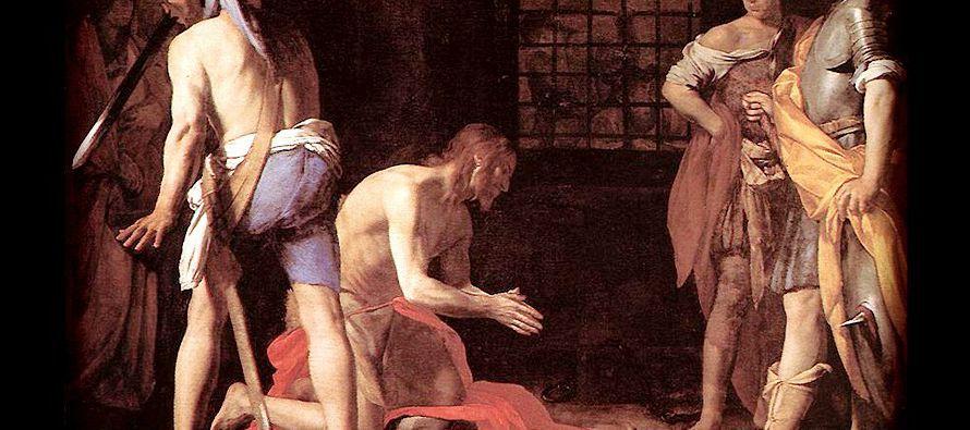 En aquel tiempo, se enteró el tetrarca Herodes de la fama de Jesús, y dijo a sus...
