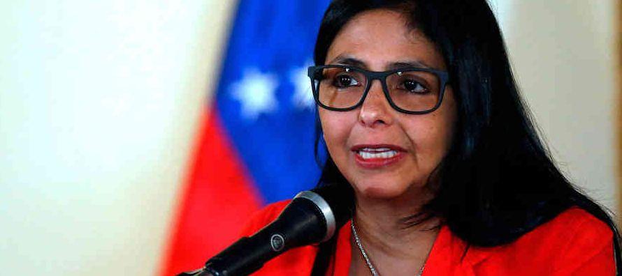 Delcy Eloína Rodríguez Gómez, la mujer que desde hoy preside la Asamblea...