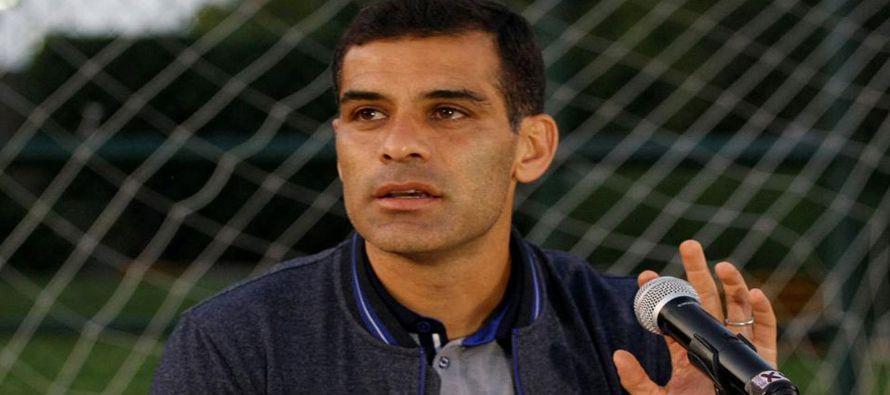 """""""Confiamos que Rafael Márquez aclare la situación ante las autoridades..."""
