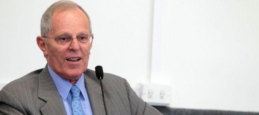 El presidente peruano, un exbanquero y de profesión economista con estudios en Oxford y...