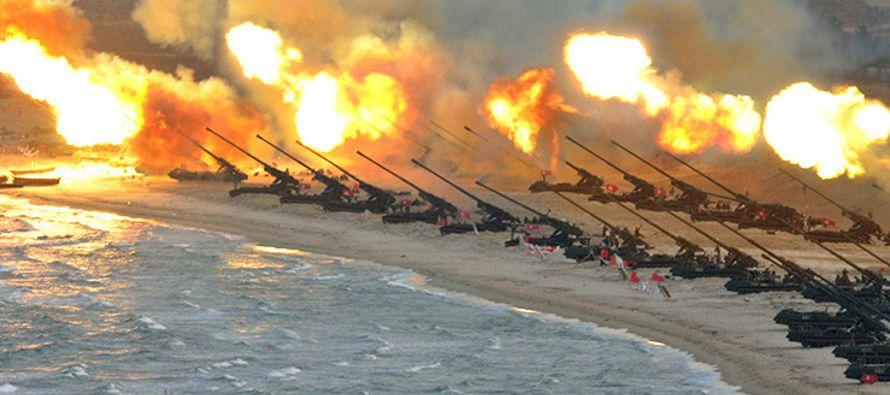 A pesar de que diversos analistas consideran que las tropas de EU y Corea del Sur tardarían...