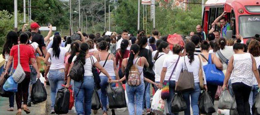 """""""En todo el mundo. Los venezolanos se han expandido tanto que están construyendo una..."""