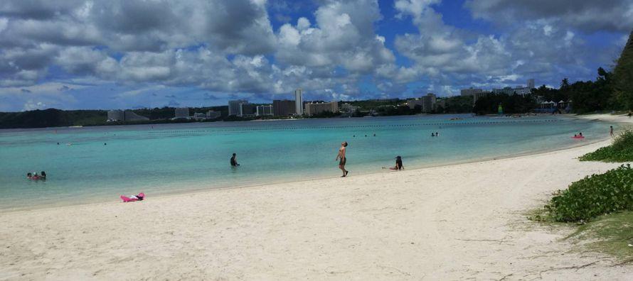 El gasto militar supone aproximadamente un tercio de la economía de Guam y genera miles de...