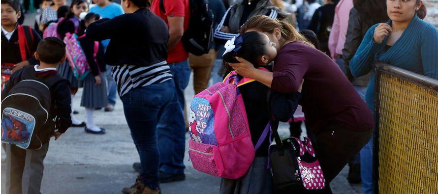 Cerca de 26 millones de estudiantes de la educación básica inician hoy el curso...