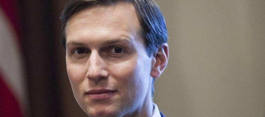 Según un funcionario de la Casa Blanca citado por la publicación, Kushner, el enviado...
