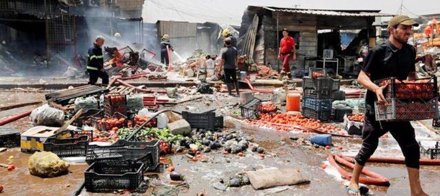 El atentado, reivindicado velozmente por el Estado Islámico (IS, por sus siglas en...