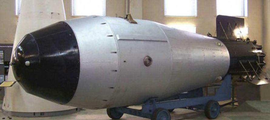 Una bomba nuclear se designa con la letra ene (N). Una de hidrógeno, con la hache (H). Las...