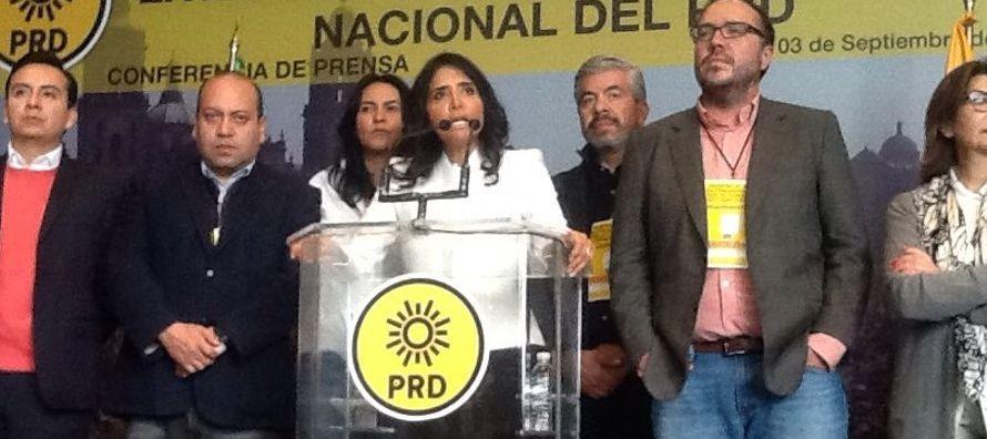 Se espera que mañana las agrupaciones que dieron el primer paso para crear este frente -PRD,...