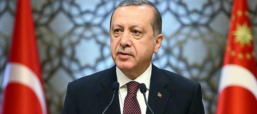 El presidente de Turquía, Recep Tayyip Erdogan, aseguró hoy desde esta ciudad que...