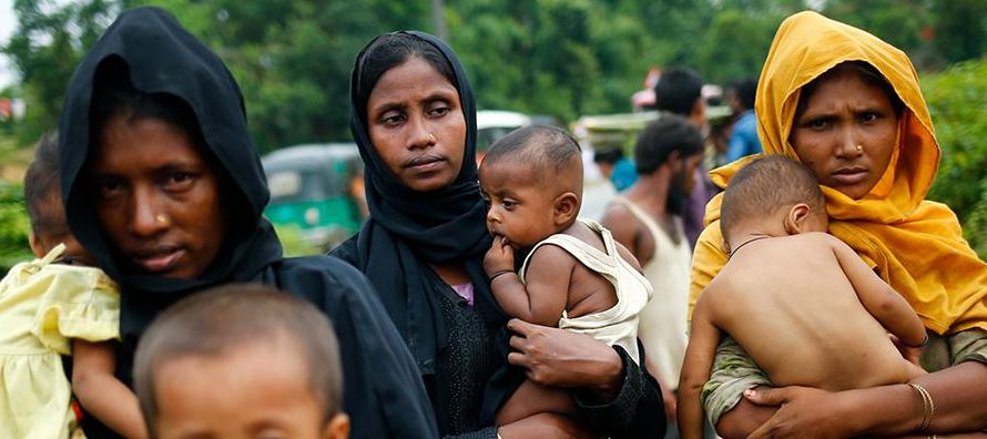 La última ola de violencia en el estado de Rakhine, en el noroeste de Myanmar,...