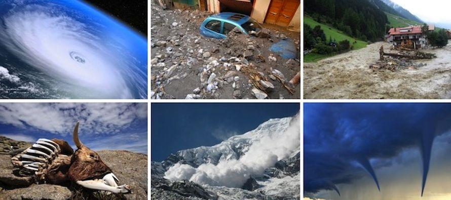 Los desastres naturales se cuadriplicaron en el planeta desde 1970, un escenario que ratifica la...