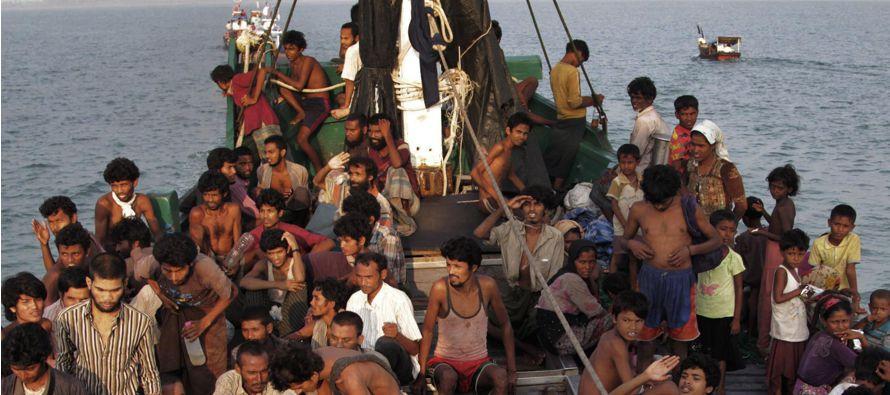 El número de refugiados que ha llegado a Bangladés desde el estado Rakhine en Myanmar...