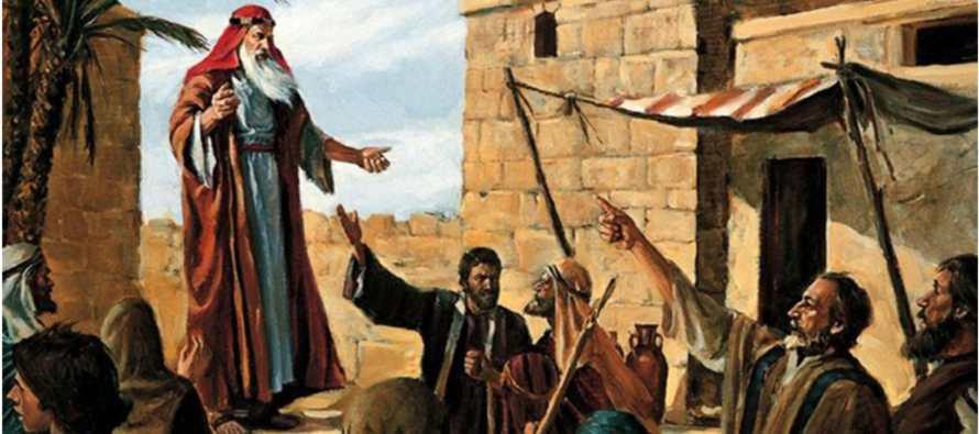 Clamen a Dios con fuerza, y vuélvase cada uno de su mal camino y de la violencia que hay en...