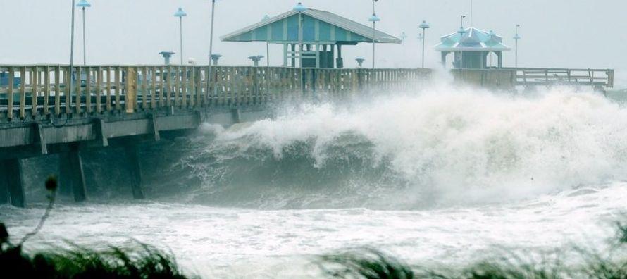 Irma, una de las tormentas más poderosas que se ha formado en el Atlántico en un...