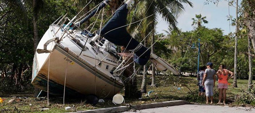 Irma, uno de los huracanes más potentes de los que se tiene registro en el Atlántico,...