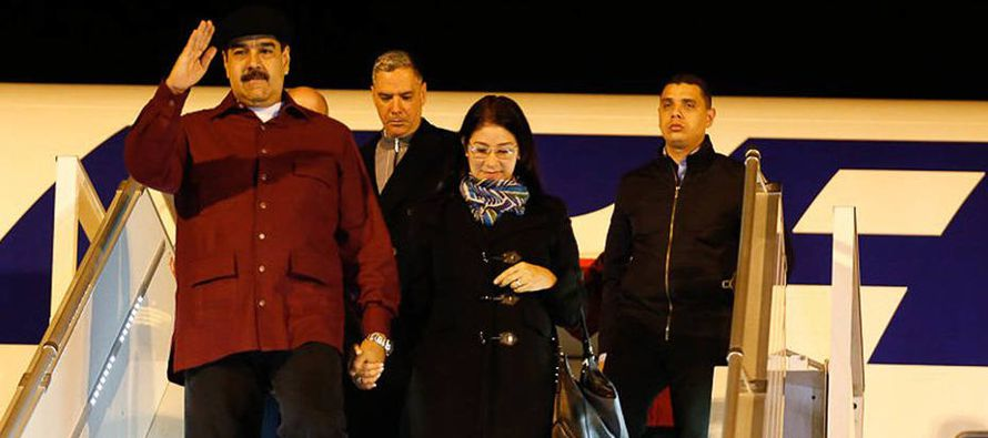 El presidente de Venezuela, Nicolás Maduro, mantuvo una reunión el lunes con...