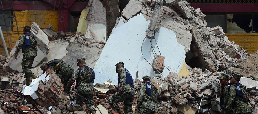 Los fallecidos por el terremoto de 8,2 grados que la medianoche del jueves sacudió a...