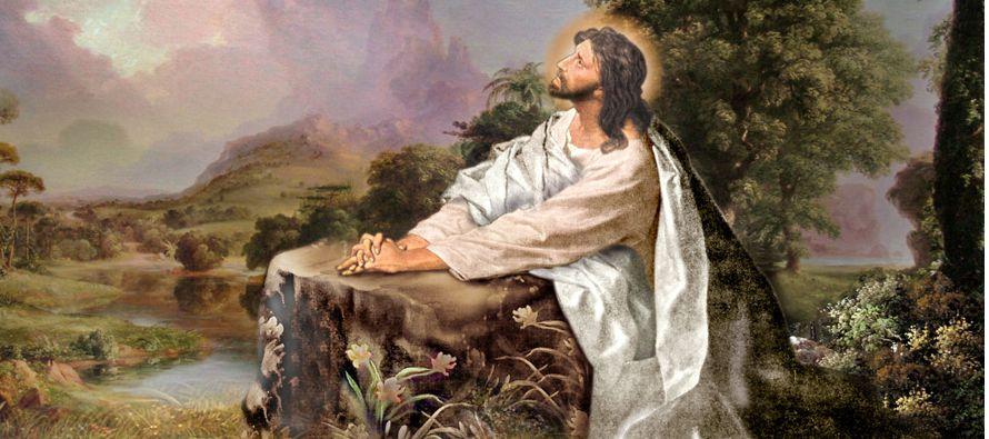 Bajando con ellos se detuvo en un paraje llano; había una gran multitud de discípulos...