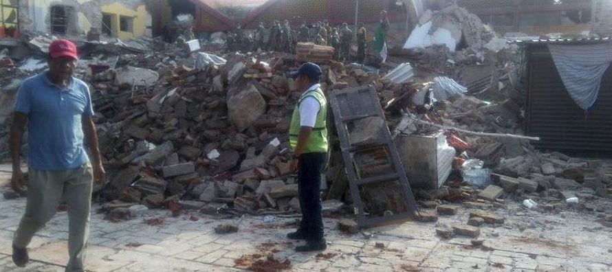 Estas réplicas sísmicas han provocado que habitantes de la región del Istmo de...