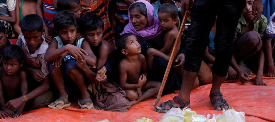 El gobierno de Myanmar, de mayoría budista, dice que sus fuerzas de seguridad están...