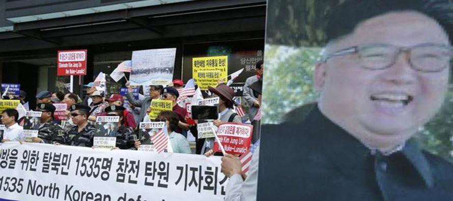 """Corea del Norte ha denunciado el martes las """"despiadadas"""" sanciones impuestas a..."""