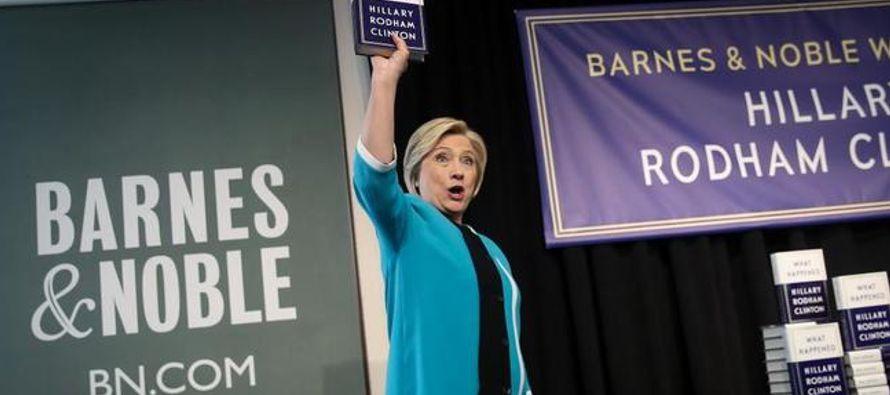 Así que Clinton no está en modo autocrítica. Cuando el diario 'USA...