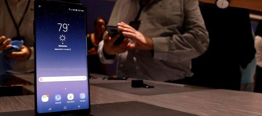 Las órdenes anticipadas por el teléfono inteligente de gama alta Galaxy Note 8 son...