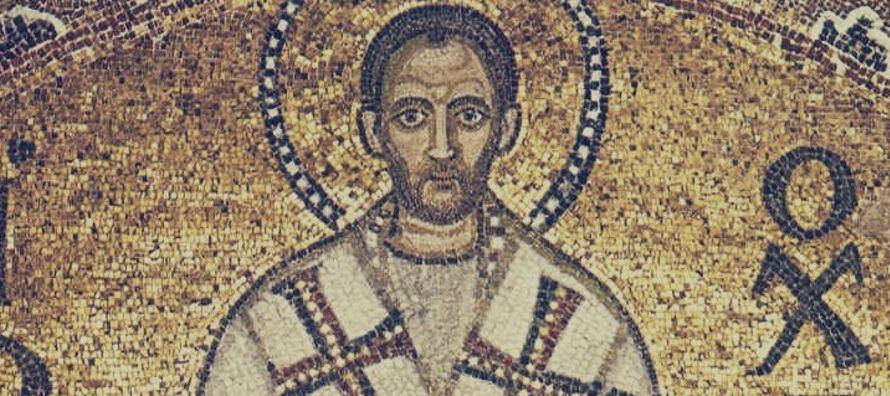 El año 368 recibió el bautismo de manos del obispo Melecio, conocido suyo, que...