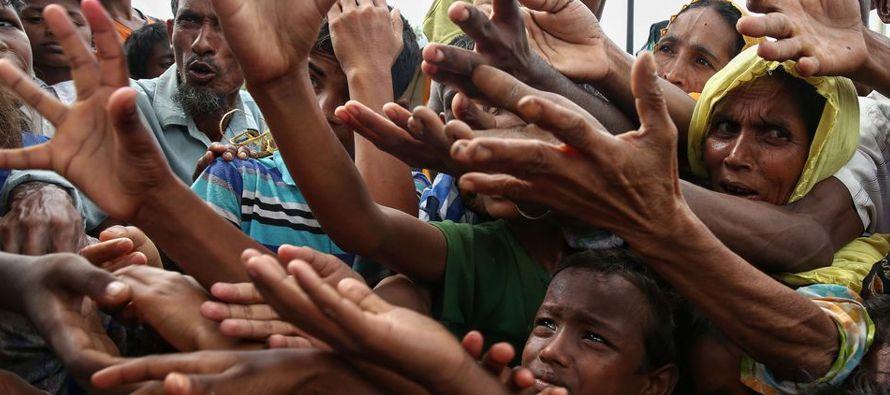 Un millón de rohinyás viven en Birmania, algunos desde hace generaciones. Pero los...