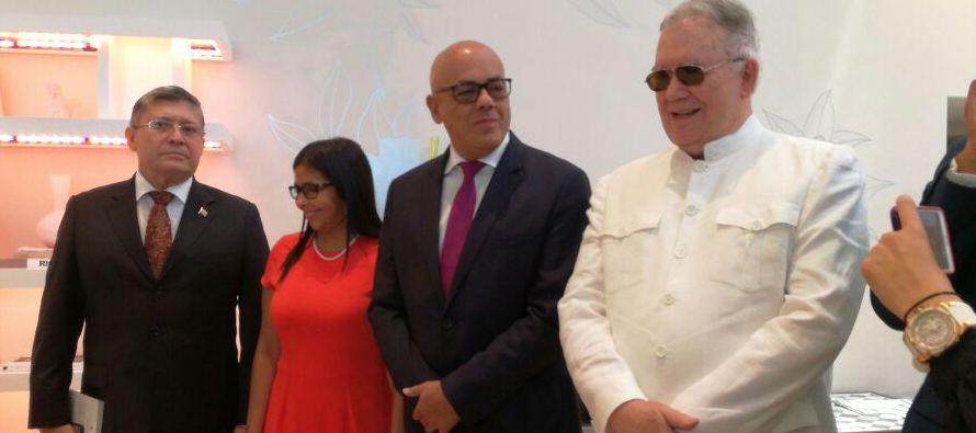 Los emisarios de Maduro en República Dominicana se mostraron optimistas y apenas al llegar...