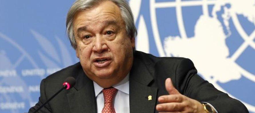 Cambio climático produce eventos meteorológicos severos: ONU