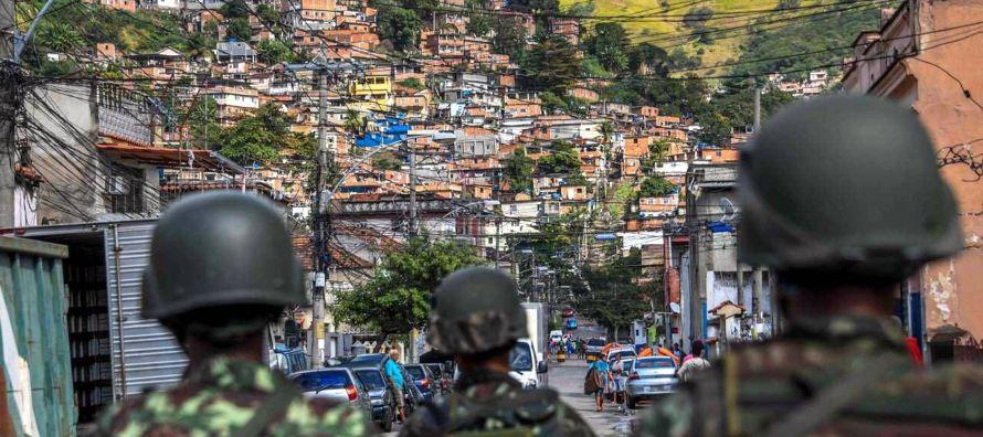 """Santa Marta, símbolo de la agónica """"pacificación"""" de las favelas de Rio"""