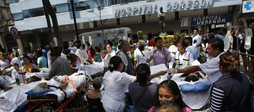 Emergencia extraordinaria en la capital mexicana tras sismo