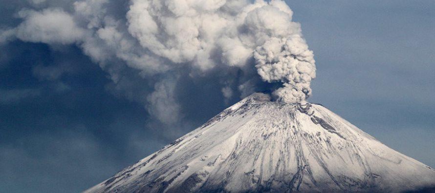 El Centro Nacional de Prevención de Desastres (Cenapred) ha detectado una explosión y...