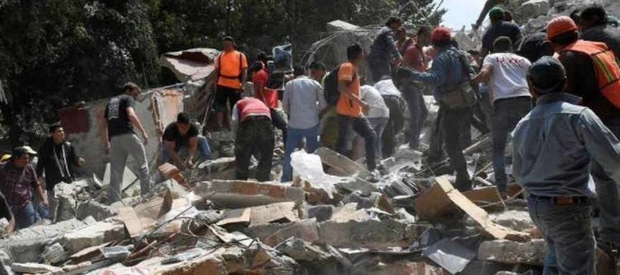 El sismo que torpedeo a la ciudad este 19 de septiembre puso a prueba el alma de los capitalinos y...
